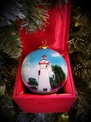 MARBLEHEAD LIGHTHOUSE ORNAMENT 2017