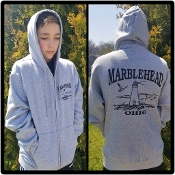 MARBLEHEAD LIGHTHOUSE HOODIE ZIP JACKET